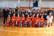 La Under 14 della Fileni Bpa